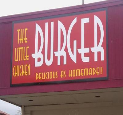 The Little Chicken Burgers Logo