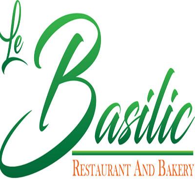 Le Basilic Restaurant and Bakery Logo