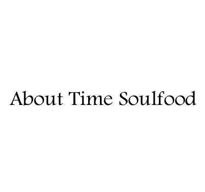 About Time Soulfood Logo