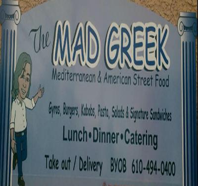 Mad Greek Logo