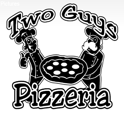 Two Guy's Pizzeria Logo