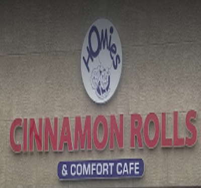 Homies Cinnamon Rolls & Comfort Cafe Logo