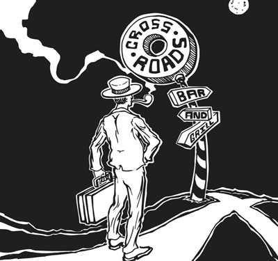Crossroads Bar and Grill Logo