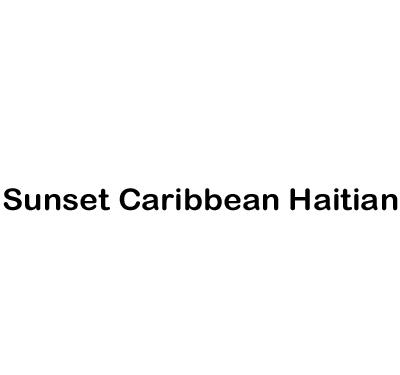 Sunset Caribbean Hatian Logo