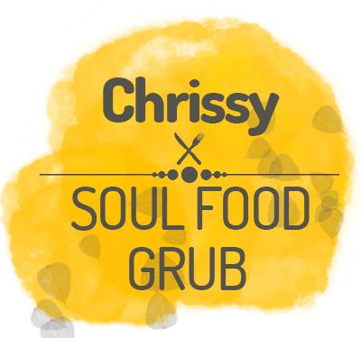 Chrissy's Soul Food Grub Logo