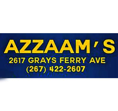 Azzaam's Halal Soul Food Logo