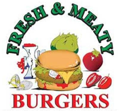 Fresh and Meaty Burgers Carson INC Logo