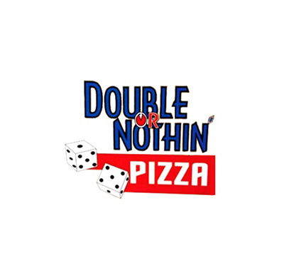 Pikey's Double or Nothing Pizza Logo
