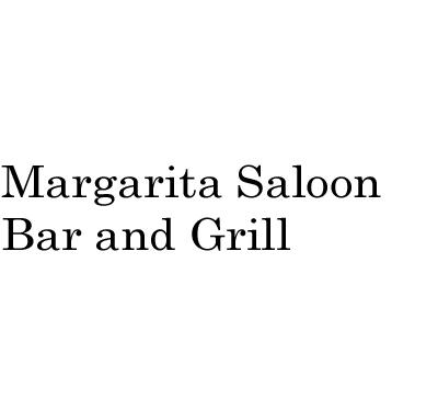 Margarita Saloon Bar and Grill Logo