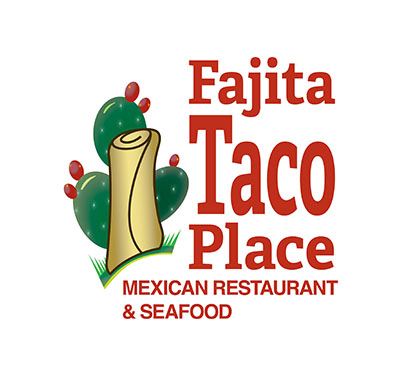 Fajita Taco Place Logo