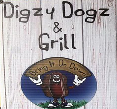 $15 Gift Certificate For $6 at Digzy Dogz & Grill.