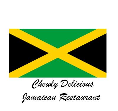 Chewly Delicious Jamaican Restaurant Logo