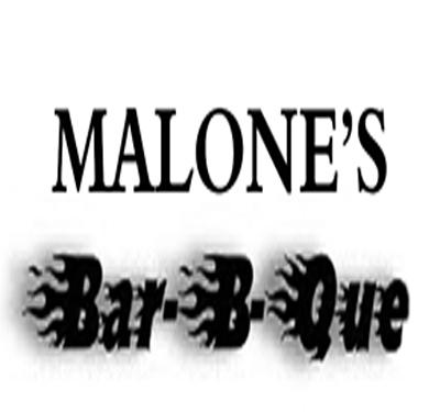 Malones Bar-B-Q Logo