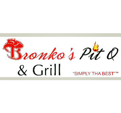 Bronkos Pit Q and Grill Logo
