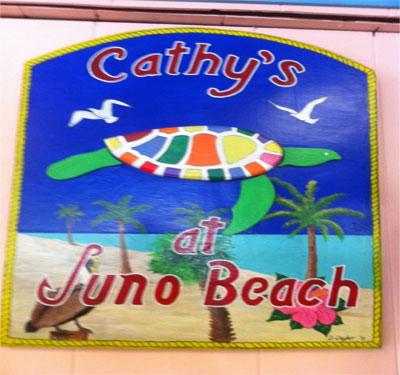 Cathy's Beach Connection Restaurant Logo
