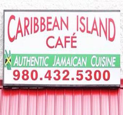 Caribbean Island Cafe Logo