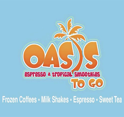 Oasis Tropical Cafe Logo