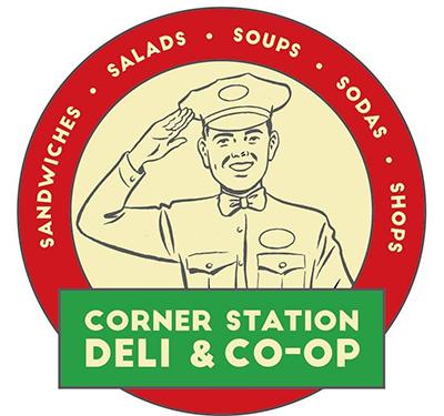 The Corner Station Deli Logo