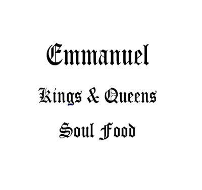 Emmanuel Kings and Queens of Soul Food Logo