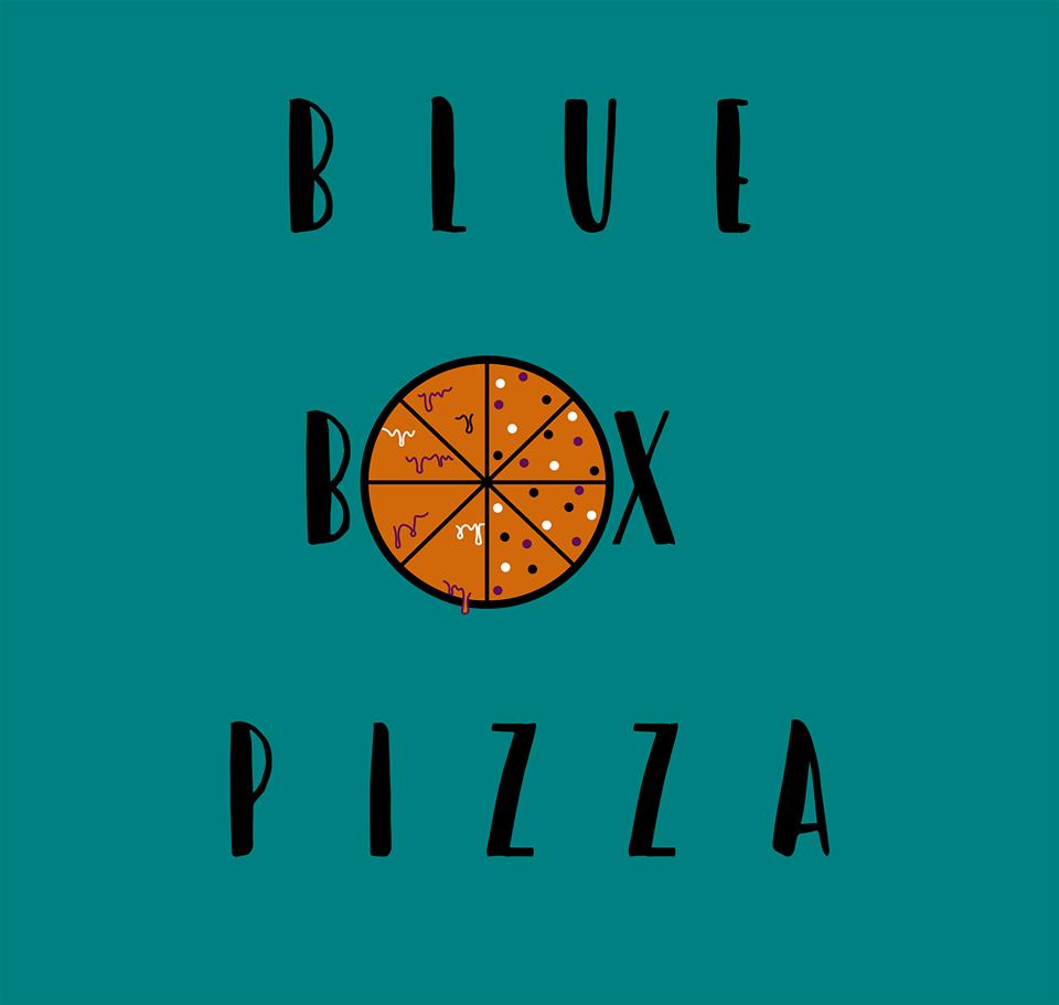 Blue Box Pizza Logo