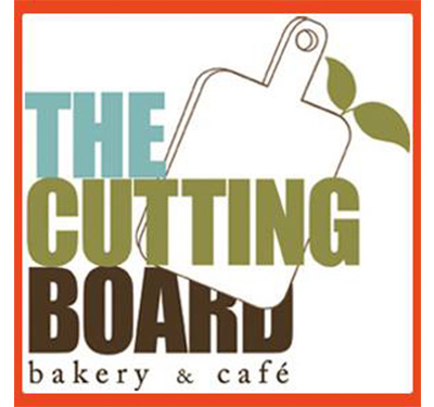 The Cutting Board Bakery and Cafe Logo