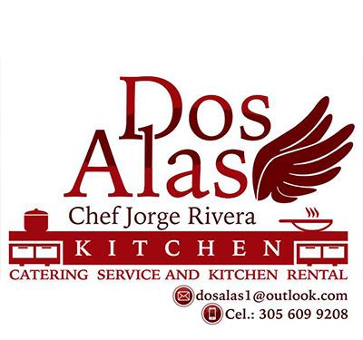 Dos Alas Kitchen Logo