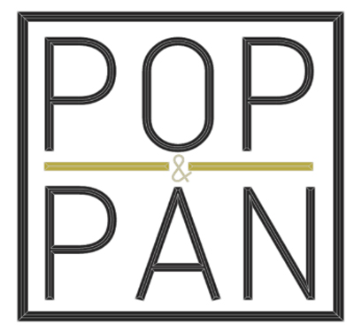 Pop & Pan Logo
