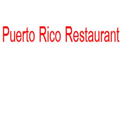 Puerto Rico Restaurant Logo