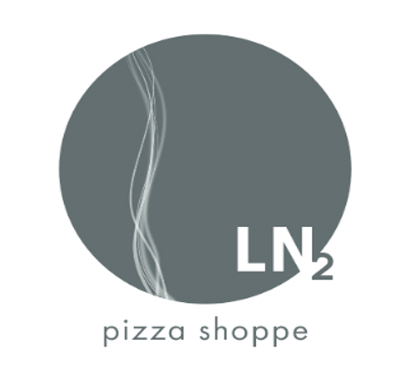 LN2 Pizza Shoppe Logo