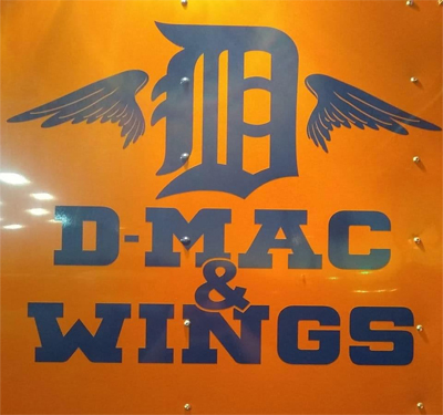 D-Mac & Wings Logo