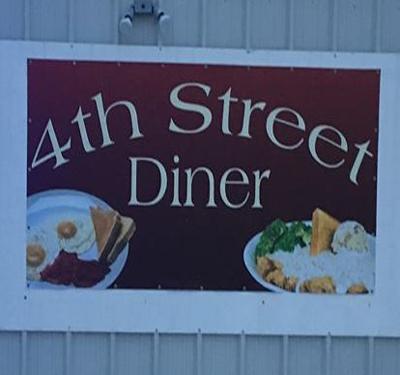 4th Street Diner Logo