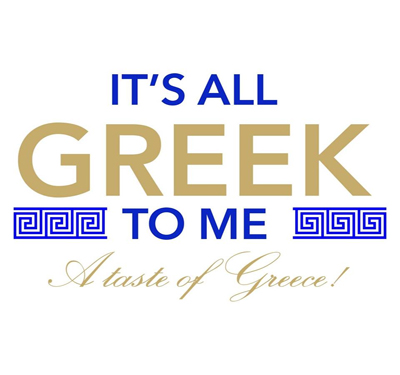 It's All Greek to Me Logo