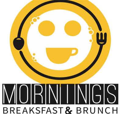 Mornings Breakfast & Brunch Logo