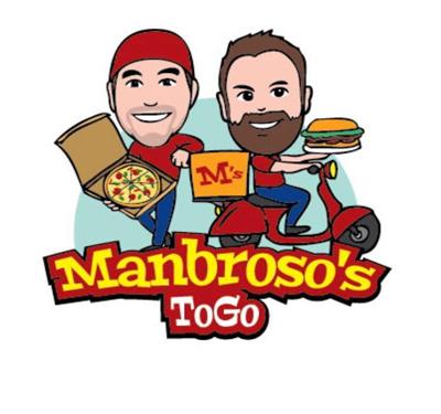 Manbroso's To Go Logo