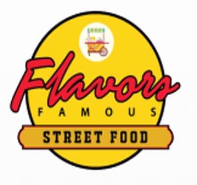 Flavors Famous Street Food Logo