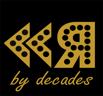 Rewind by Decades Logo