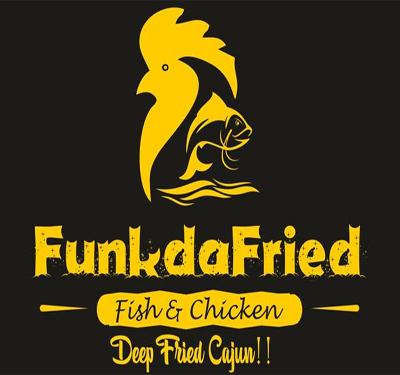 Funk Da Fried Fish & Chicken - Spring Logo
