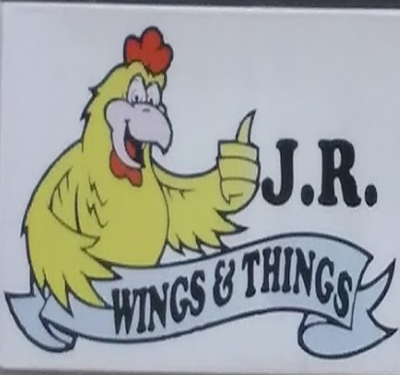 J.R. Wings & Things Logo