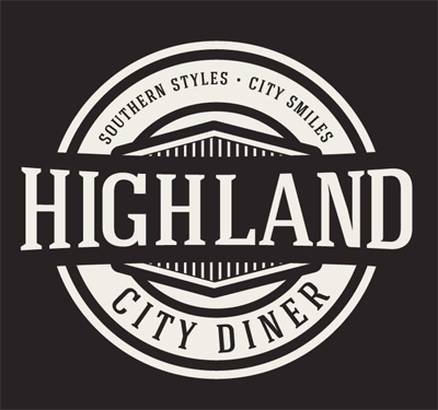 Highland City Diner Logo