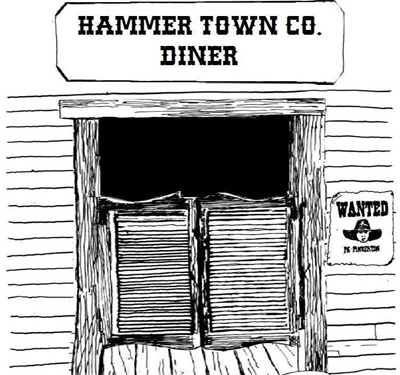 Hammer Town Company Diner Logo