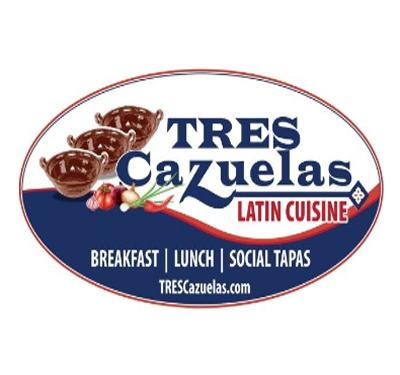 Tres Cazuelas Logo