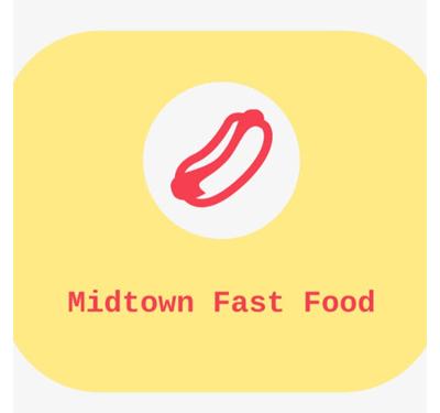 Midtown Fast Food Logo