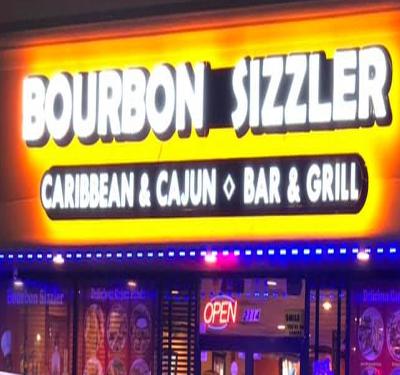 Bourbon Sizzler Logo