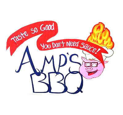 Amp's BBQ Logo