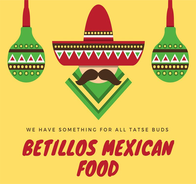 Betillo's Mexican Food Logo