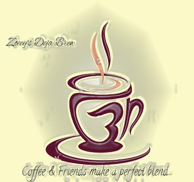 Zoeey's Deja Brew Logo