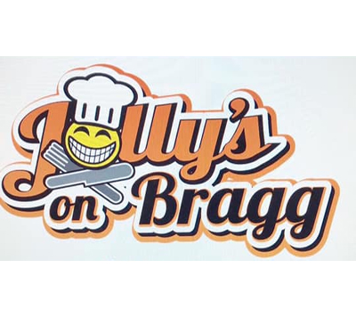 Jolly's on Bragg Logo