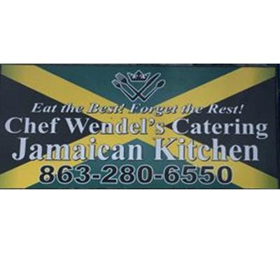 Chef Wendel's Catering Jamaican Kitchen Logo
