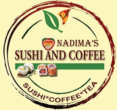 Nadima's Sushi and Coffee Logo
