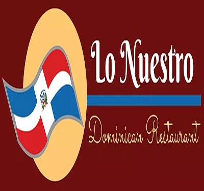 Lo Nuestro Dominican Restaurant Logo